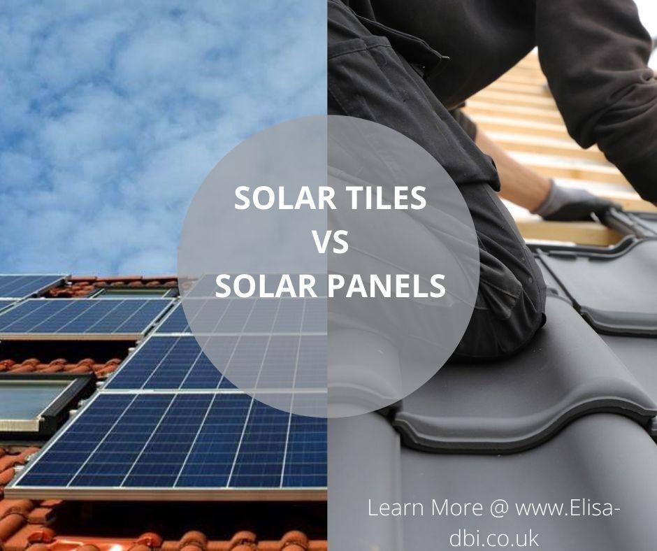 solar roof tiles vs solar panels